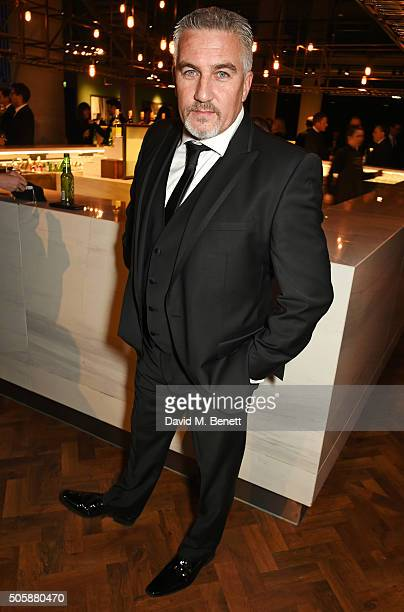 Paul Hollywood attends the 21st National Television Awards at The O2 Arena on January 20 2016 in London England