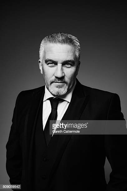 Paul Hollywood poses in the Portrait Studio during the 21st National Television Awards at The O2 Arena on January 20 2016 in London England