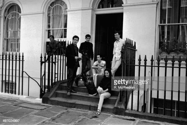 Paul Howes and fellow occupants leave their Moulding flat for the last time, August 29th 1964.