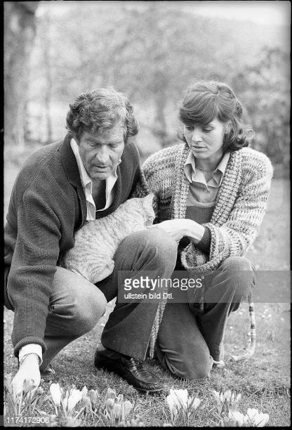 Paul Hubschmid and Eva Renzi actors 1974