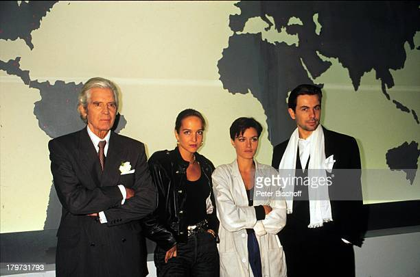 Paul Hubschmid Maja Maranow AnouschkaRenzi und Stefan Borg ARD TVSerie JollyJoker 1991