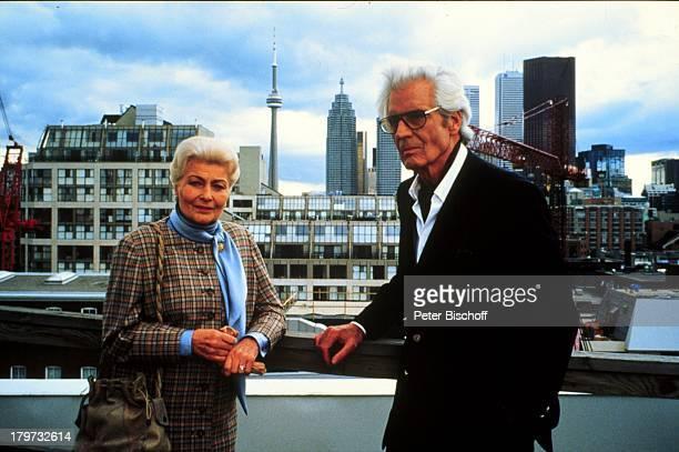 """Paul Hubschmid mit Winnie Markus, ZDF-Film;""""Wiedersehen in Kanada"""" 1991,"""