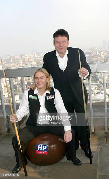 Paul Hunter and Jimmy Brown formerly known as Jimmy White