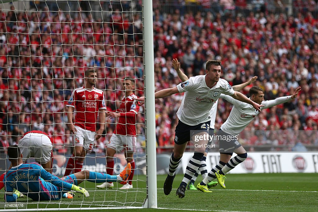 Swindon Town v Preston North End - Sky Bet League One Playoff Final : News Photo