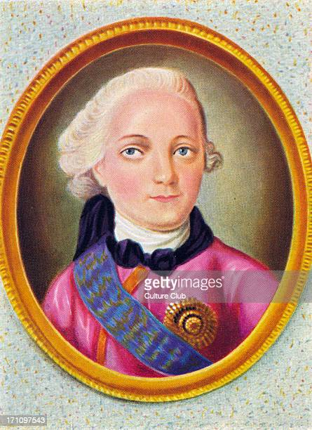 Paul I of Russia - portrait - Tsar from 1796 -1801 - 1 October 1754 - 23 March 1801