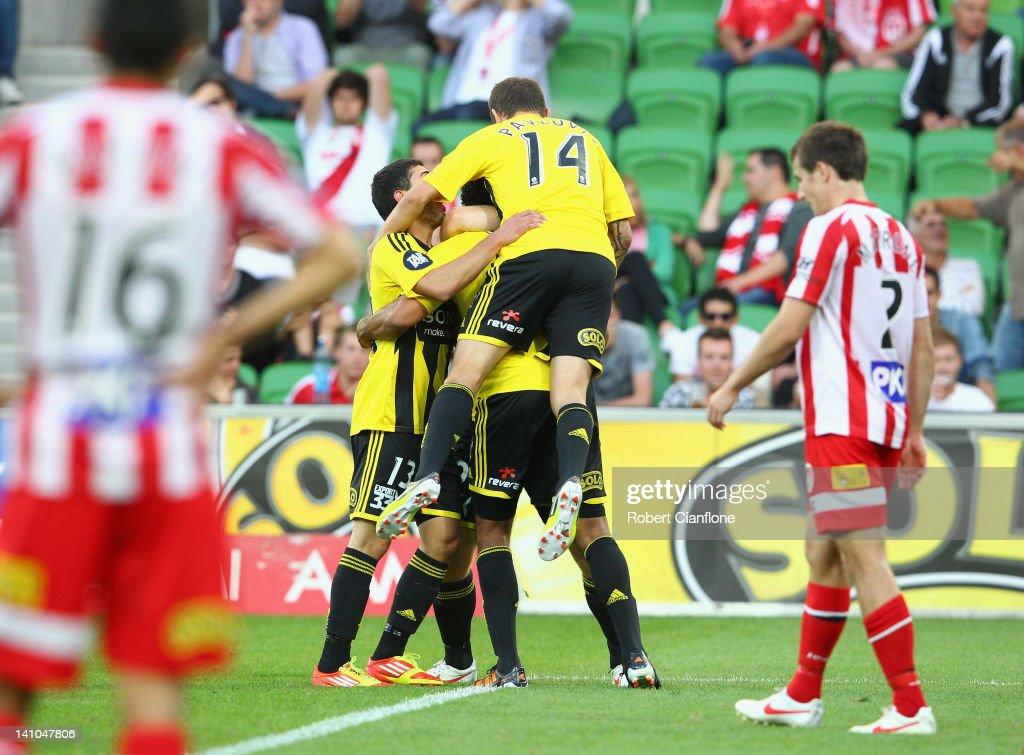 A-League Rd 23 - Heart v Wellington