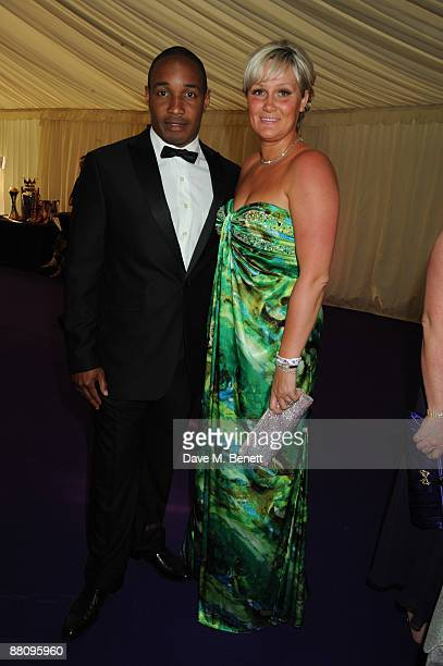 Paul Ince and wife attend the 5 Stars Scanner Appeal on June 1 2009 in Sutton Coldfield United kingdom