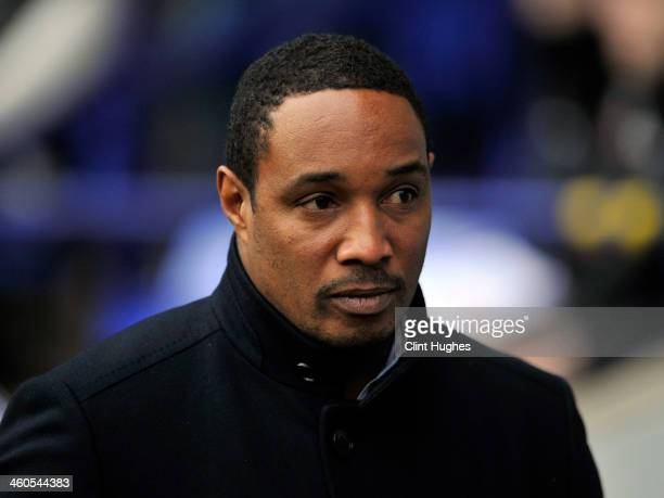 Paul Ince manager of Blackpool during the Budweiser FA Cup Third Round match between Bolton Wanderers and Blackpool at the Reebok Stadium on January...
