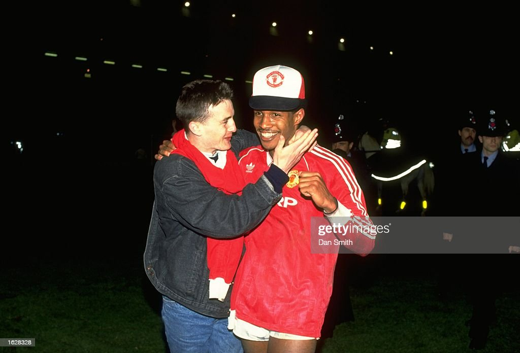 Paul Ince of Manchester United : News Photo