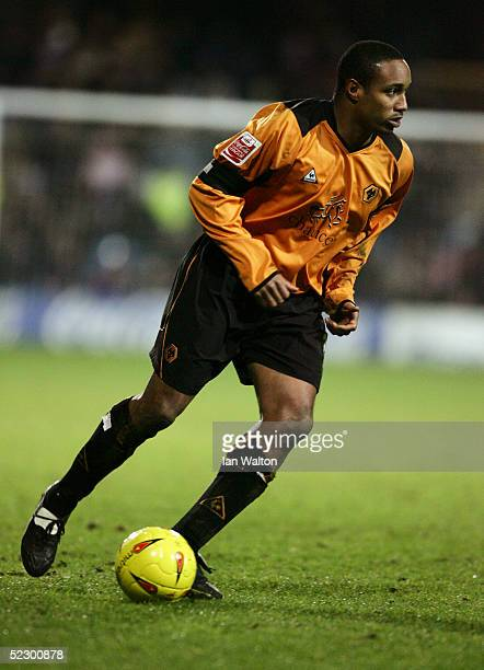 Paul Ince of Wolverhampton Wanderers in action during the CocaCola Championship match between Queens Park Rangers and Wolverhampton Wanderers held at...
