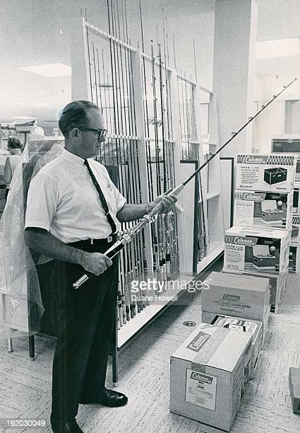 JUL 11 1968 JUL 19 1968 JUL 24 1968 Paul J Fenton Tests Browning DeepSea Rod He is manager of Colorado Shop in The Denver's store