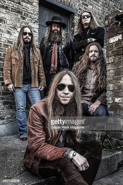 Paul Jackson Brit Turner Richard Turner Brandon Still and Charlie Starr of American country rock group Blackberry Smoke taken on November 15 2013