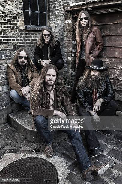 Paul Jackson Richard Turner Charlie Starr Brit Turner and Brandon Still of American country rock group Blackberry Smoke taken on November 15 2013