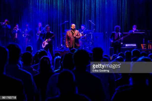 Paul Janeway of St Paul and The Broken Bones performs at The Joy Theater on April 26 2018 in New Orleans Louisiana