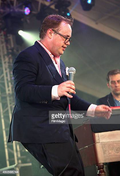 Paul Janeway of St Paul and The Broken Bones performs onstage at The Other Tent during day 2 of the 2014 Bonnaroo Arts And Music Festival on June 13...