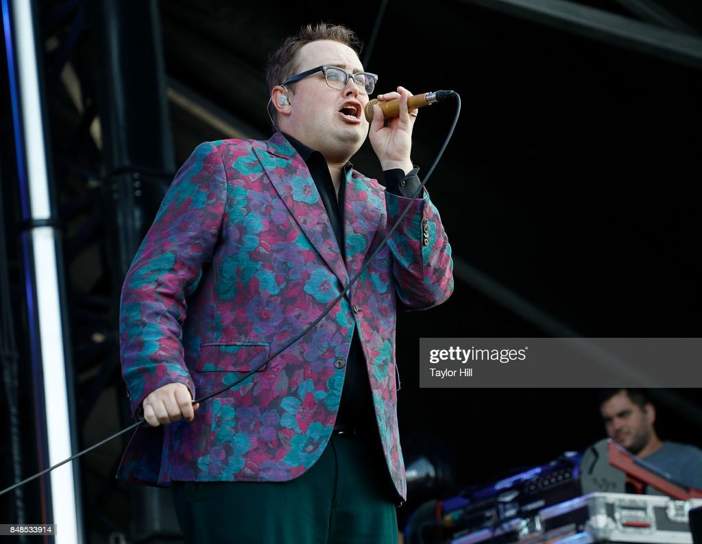 Paul Janeway of St. Paul & The Broken Bones performs onstage during Day 3 at The Meadows Music & Arts Festival at Citi Field on September 17, 2017 in New York City.