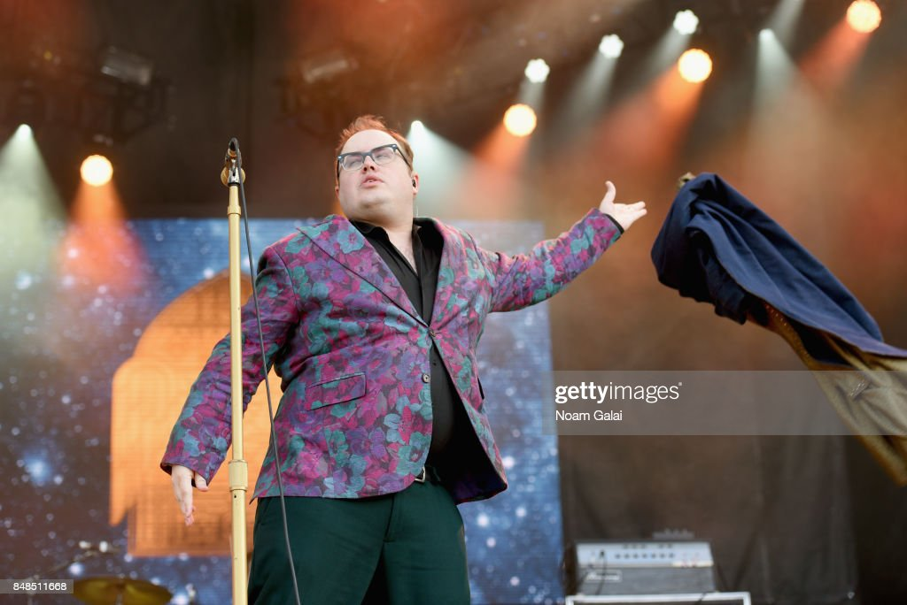 Paul Janeway of St. Paul & The Broken Bones performs onstage during the Meadows Music and Arts Festival - Day 3 at Citi Field on September 17, 2017 in New York City.