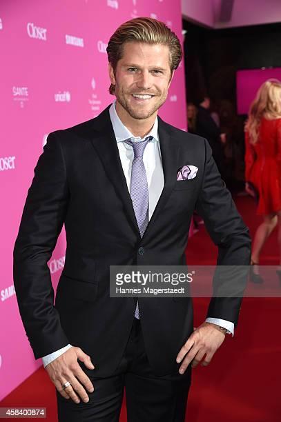Paul Janke attends the 'CLOSER Magazin Hosts SMILE Award 2014' at Hotel Vier Jahreszeiten on November 4 2014 in Munich Germany