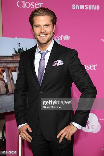 Paul Janke attends the CLOSER Magazin Hosts SMILE Award 2014 at Hotel Vier Jahreszeiten on November 4 2014 in Munich Germany
