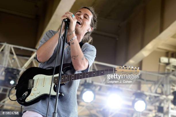 Paul Jason Klein of LANY performs at the 2017 Forecastle Music Festival on July 16, 2017 in Louisville, Kentucky.