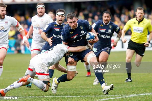 Paul JEDRASIAK of Clermont and Will ADDISON of Ulster during the European Rugby Champions Cup, Pool 3 match between Clermont and Ulster on January...