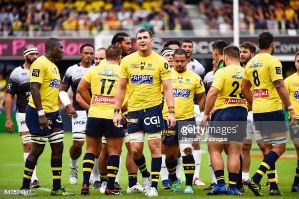 Paul Jedrasiak of Clermont during the Top 14 match between Clermont and Toulon on September 3 2017 in ClermontFerrand France