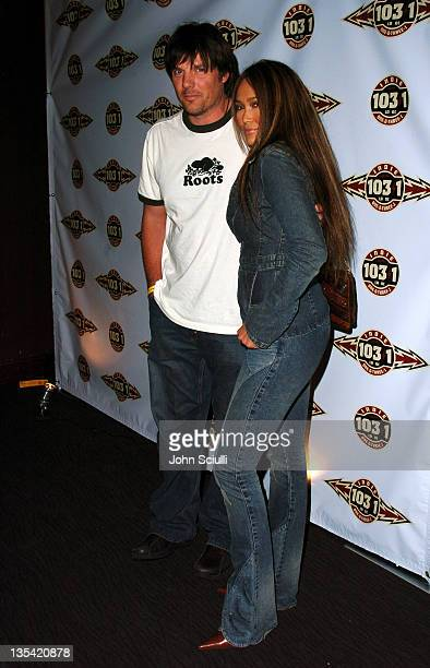 Paul Johansson and Tia Carrere during Camp Freddy In Concert with Suicide Girls Sponsored by Indie 103.1 - Inside and Backstage at Avalon Hollywood...