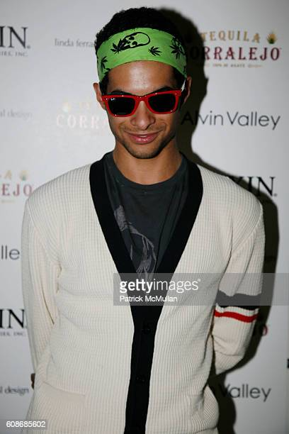 Paul Johnson Calderon attends ALVIN VALLEY Resort Collection Show at The Bowery Hotel on June 13 2007 in New York City