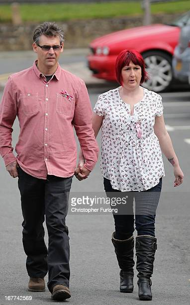 Paul Jones and Coral Jones the parents of missing April Jones arrive at Mold Crown Court to watch accused Mark Bridger face trial for the murder of...