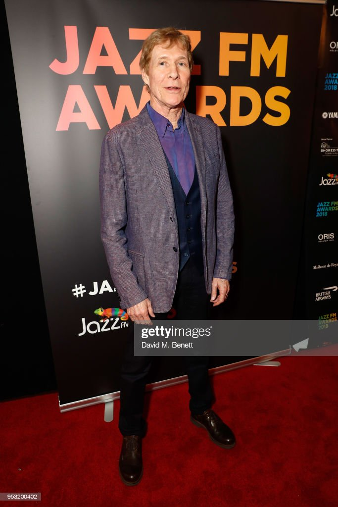 Shoreditch Town Hall: Paul Jones Attends The Jazz FM Awards 2018 At Shoreditch