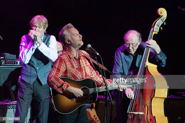 Paul Jones, Billy Bragg, Chris Barber perform at Lead Belly Fest 2015 at Royal Albert Hall on June 15, 2015 in London, United Kingdom