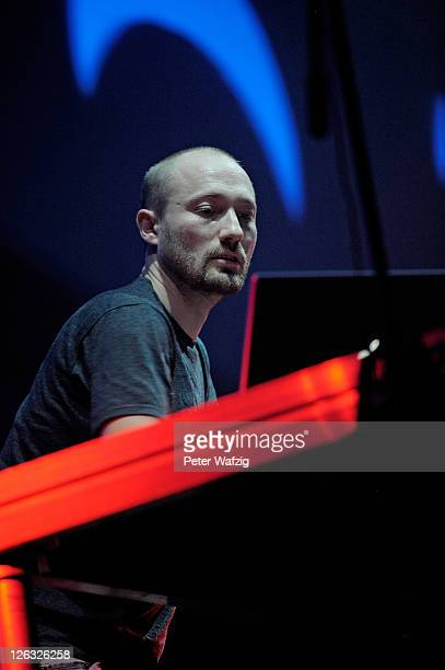 Paul Kalkbrenner performs on stage at the Palladium on September 24 2011 in Cologne Germany