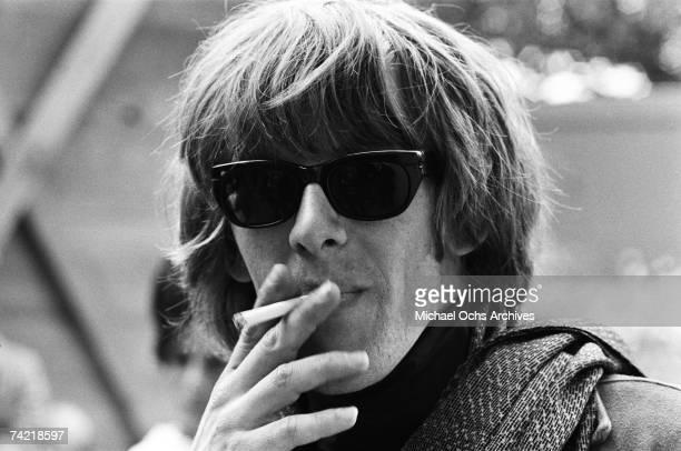 Paul Kantner of Jefferson Airplane backstage at the Monterey Pop Festival on June 17 1967 in Monterey California