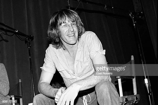 Paul Kantner of Jefferson Starship at the taping of the Robert Klein Radio Hour at RCA Studios in New York City on November 20 1979