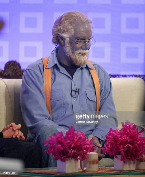 "Paul Karason visits the NBC ""Today"" show February 6, 2008 in New York City."