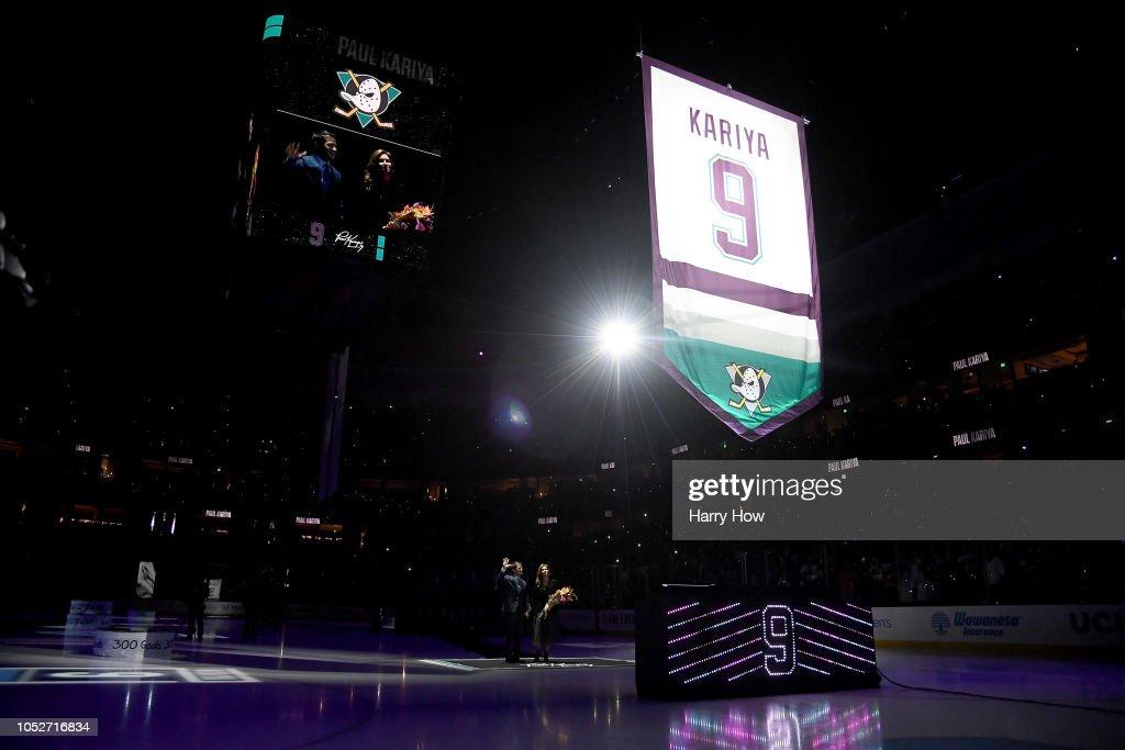 Buffalo Sabres v Anaheim Ducks : News Photo