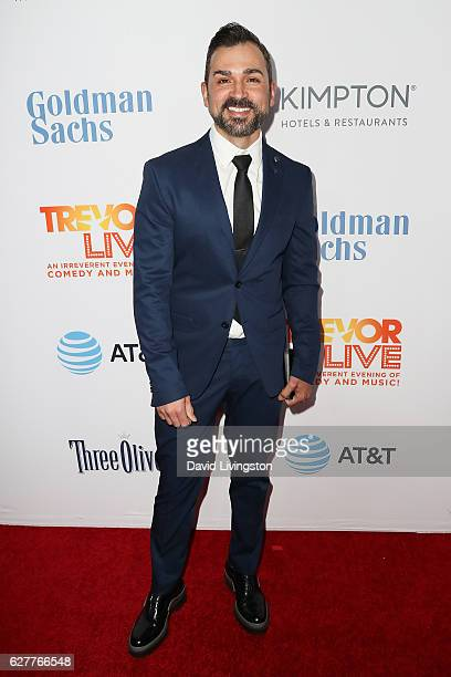 Paul Katami arrives at the TrevorLIVE Los Angeles 2016 Fundraiser at The Beverly Hilton Hotel on December 4 2016 in Beverly Hills California