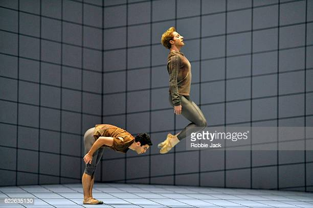 Paul Kay and Steven McRae in the Royal Ballet's production of Wayne McGregor's Multiverse at The Royal Opera House Covent Garden on November 10 2016...