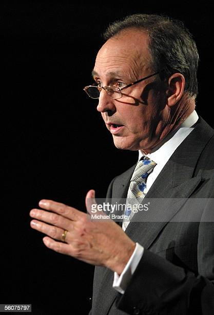 Paul Keating former Prime Minister of Australia speaks at the Catching the Knowledge Wave conference at the Sheraton Hotel in Auckland Wednesday