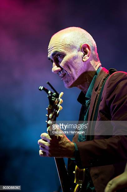 Paul Kelly performs at Falls Festival on January 1 2016 in Byron Bay Australia