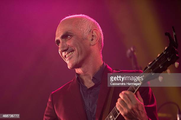 Paul Kelly Presents The Merri Soul Sessions live for fans at the 2015 Byron Bay Bluesfest on April 6 2015 in Byron Bay Australia