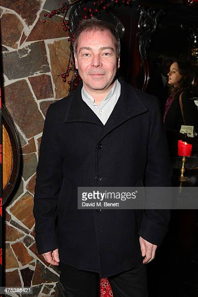 Paul Kemp attends the after party for the press night of Ghost Stories at on February 27 2014 in London England