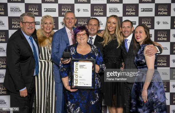 Paul Kepitis Patricia and Peter Tighe Debbie Kepitis Chris and Stephanie Waller Hugh and Christine Bowman and at Federation Square on May 19 2017 in...