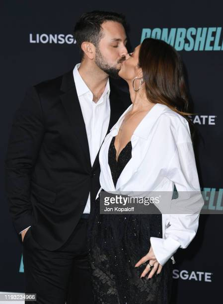 """Paul Khoury and Ashley Greene attend Special Screening Of Liongate's """"Bombshell"""" at Regency Village Theatre on December 10, 2019 in Westwood,..."""