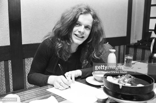 Paul Kossoff is interviewed at a Japanese Restaurant, April 1970.