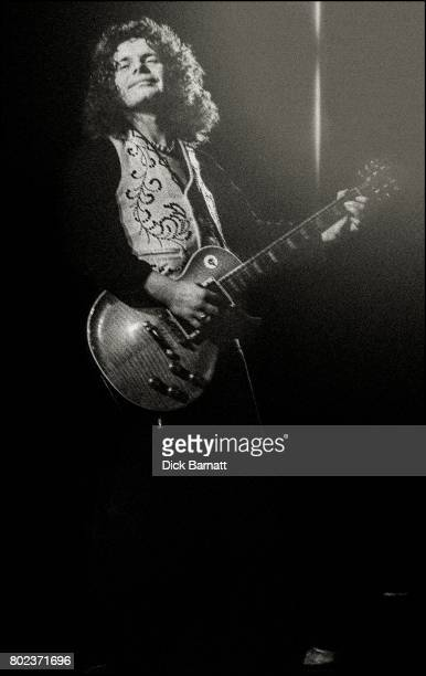 Paul Kossoff of Back Street Crawler performing on stage, New Victoria Theatre, London, United Kingdom, November 28th 1975.
