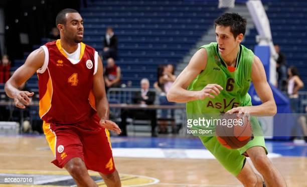 Paul LACOMBE - - Villeurbanne / Galatasaray - Tour Preliminaire de lÆEuroleague -Vilnius,