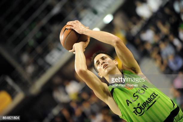 Paul LACOMBE Asvel / Buducnost Euroligue 2010/2011 Astrobale Villeurbanne