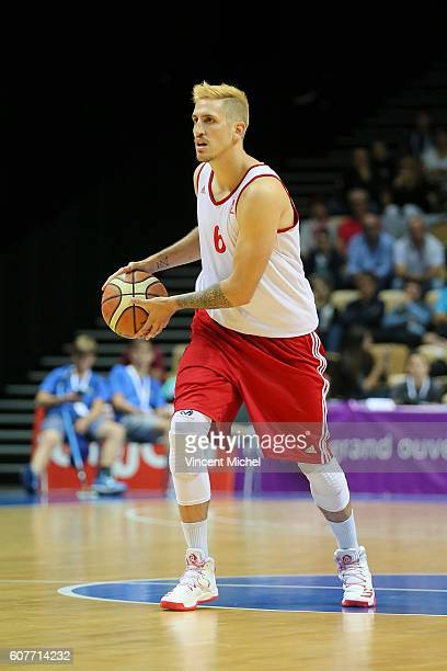 Paul Lacombe of Strasbourg during the Final match between Strasbourg and Gravelines Dunkerque at Tournament ProStars at Salle Arena Loire on...