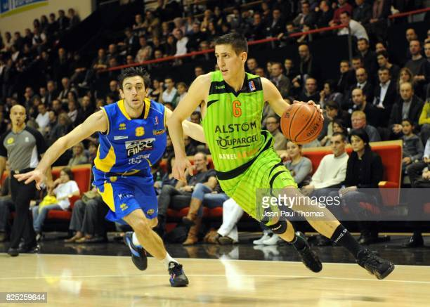 Paul LACOMBE - Shaun FEIN - - Asvel / Hyeres Toulon - 17e journee Pro A,